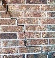 exterior crack - foundation problems