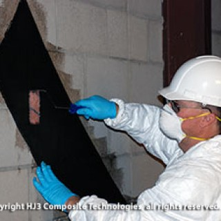 Applying StrongHold's Cracked Wall Repair Kit is fast and easy!