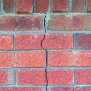 Cracks that go through the brick can be more concerning,  Credit: Brick Dr