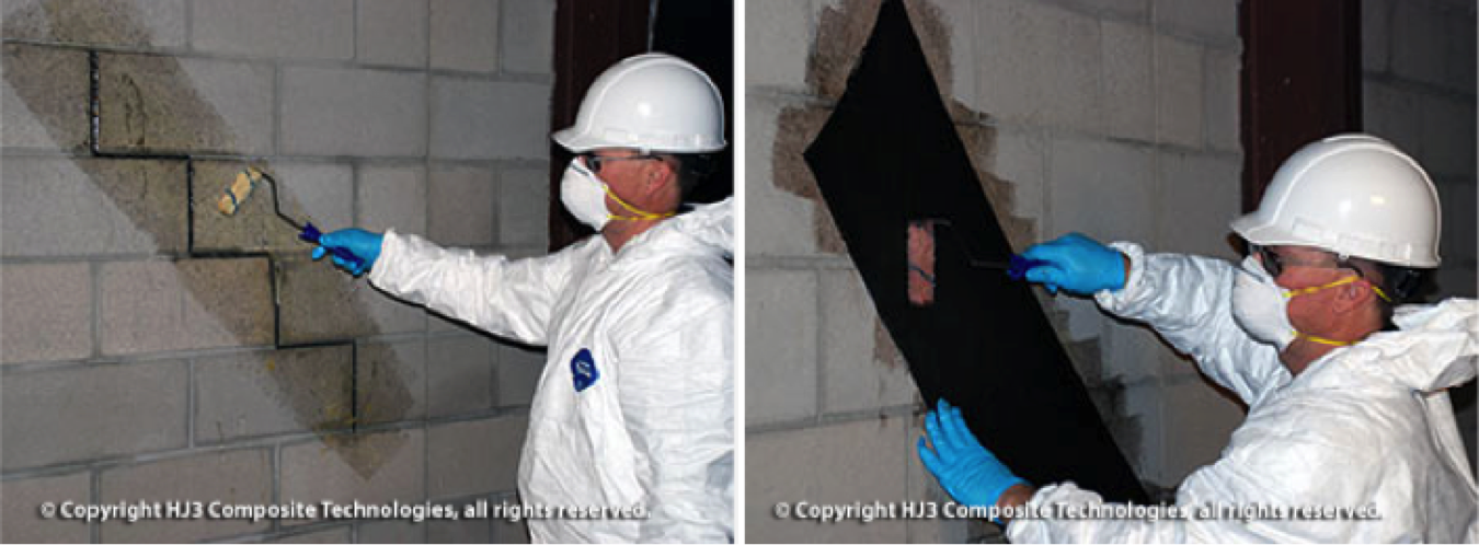 StrongHold's cracked wall repair kit confines wall cracks, preventing basement mold from returning.