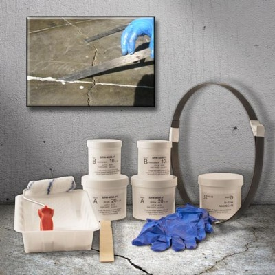 32 ft. concrete floor stitching kit