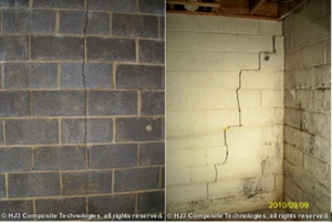 When your wall cracks occur in foundation blocks, you'll need a structural repair.