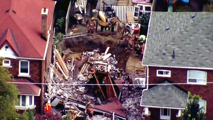 underpinning toronto home collapse - cbc.ca